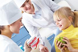 Гигиенические чистки зубов детям